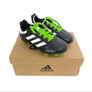 Adidas Kids NWB Goletto VI Black Soccer Cleats